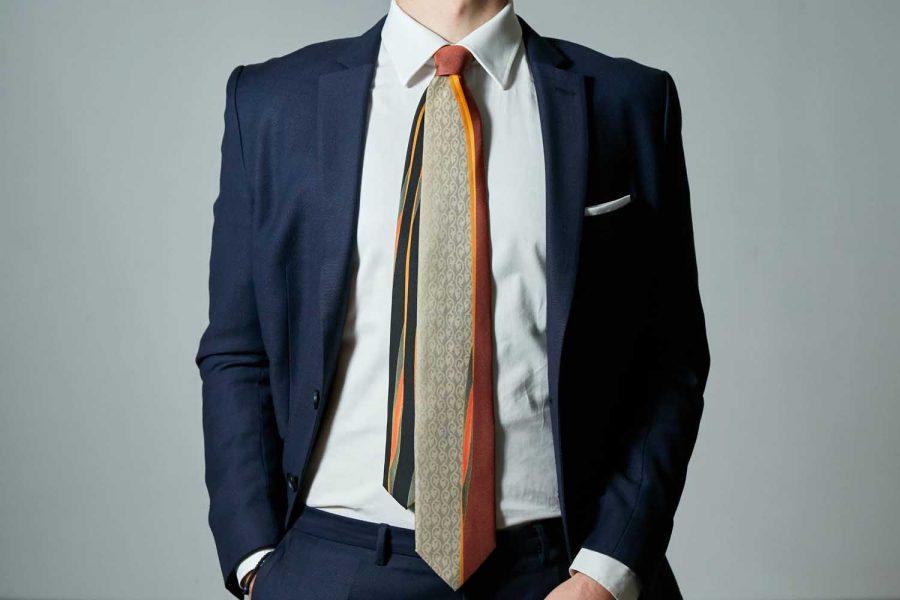 Γραβάτα συλλεκτική, Double sided, Μετάξι 100%