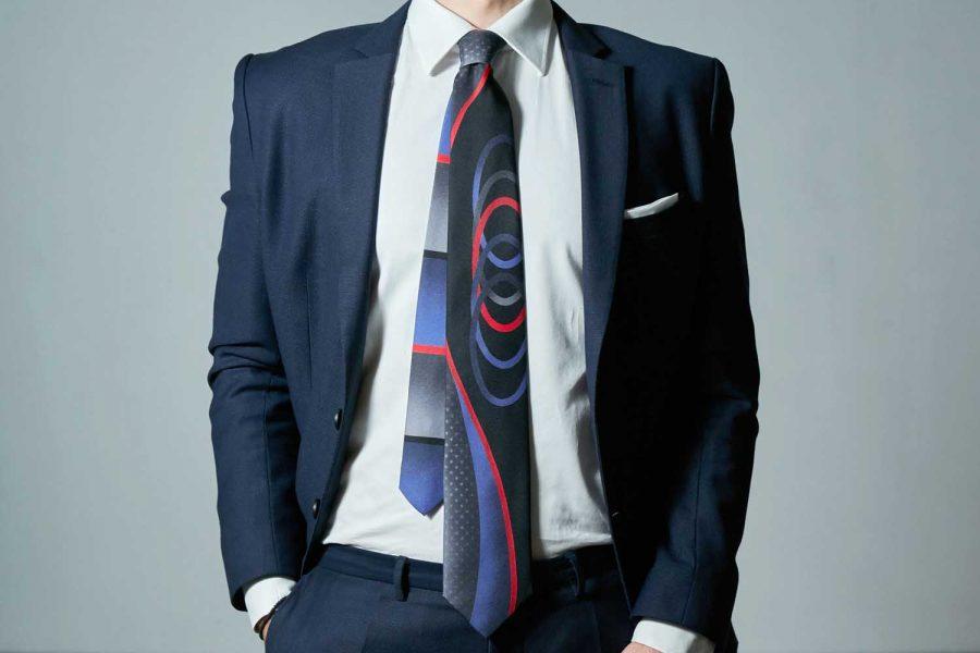 Γραβάτα πολύχρωμη συλλεκτική, Μετάξι 100%