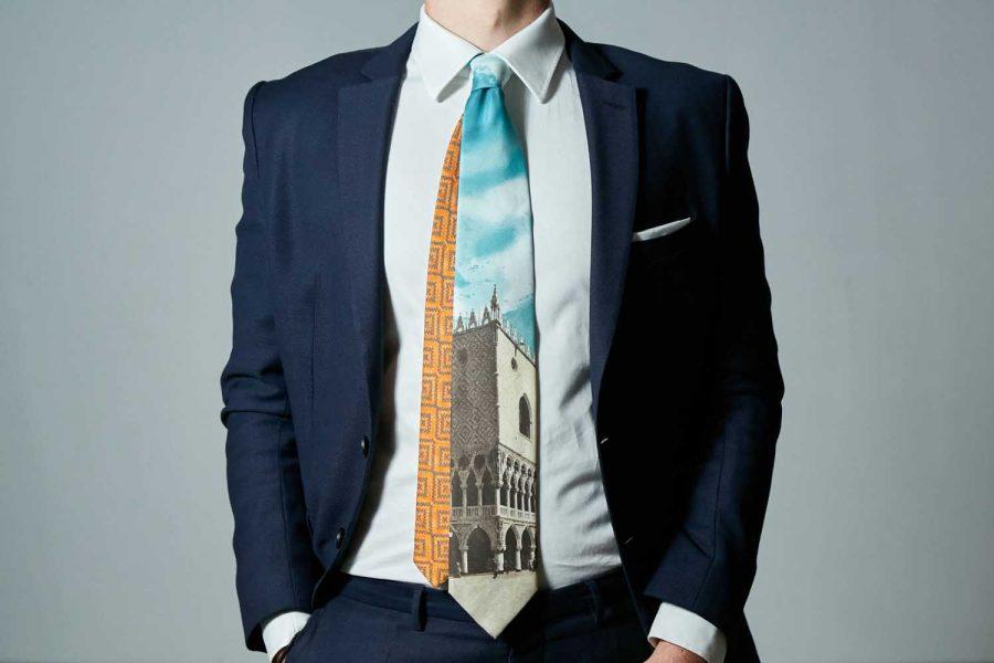 """Γραβάτα """"Δουκάτο Φλωρεντίας"""" , Μετάξι 100%"""