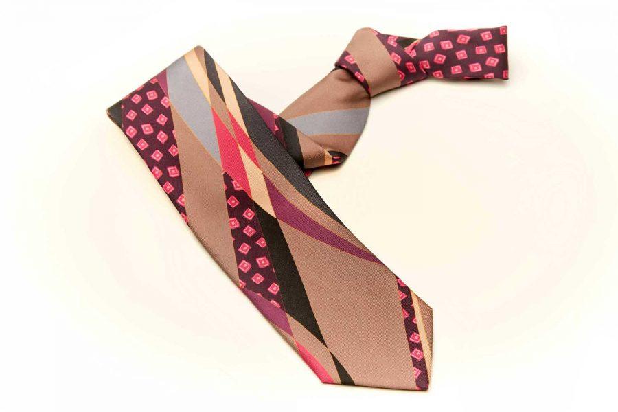 Γραβάτα πολύχρωμη fantasy, Μετάξι 100%