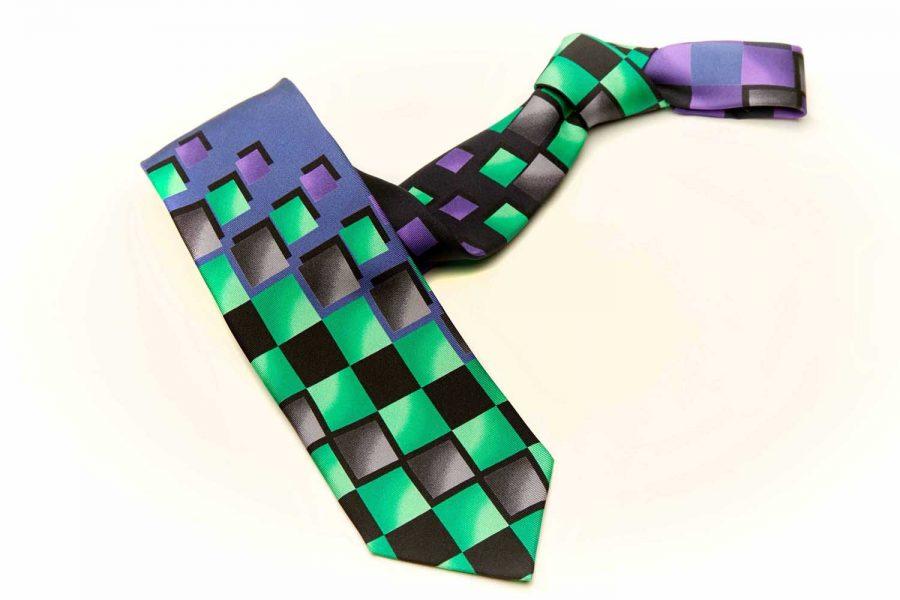 """Γραβάτα """"premium concept"""" , Double sided, Μετάξι 100%"""