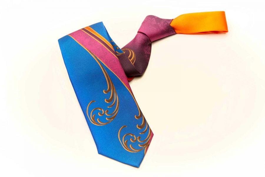"""Γραβάτα """"Premium Edition"""", Double sided, Μετάξι 100%"""