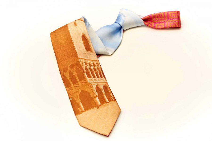 """Γραβάτα συλλεκτική """"Δουκάτο Φλωρεντίας"""", Μετάξι 100%"""