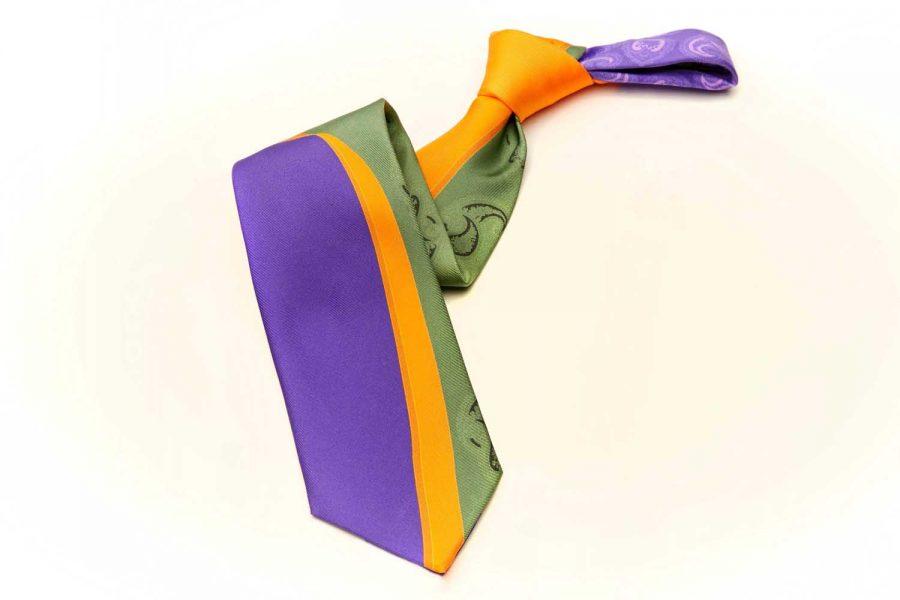 Γραβάτα fantasy και πίσω λαχούρι, Μετάξι 100%