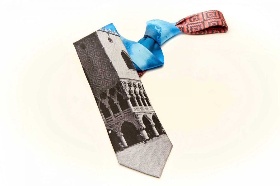 """Γραβάτα συλλεκτική, """"Δουκάτο Φλωρεντίας"""", Μετάξι 100%"""