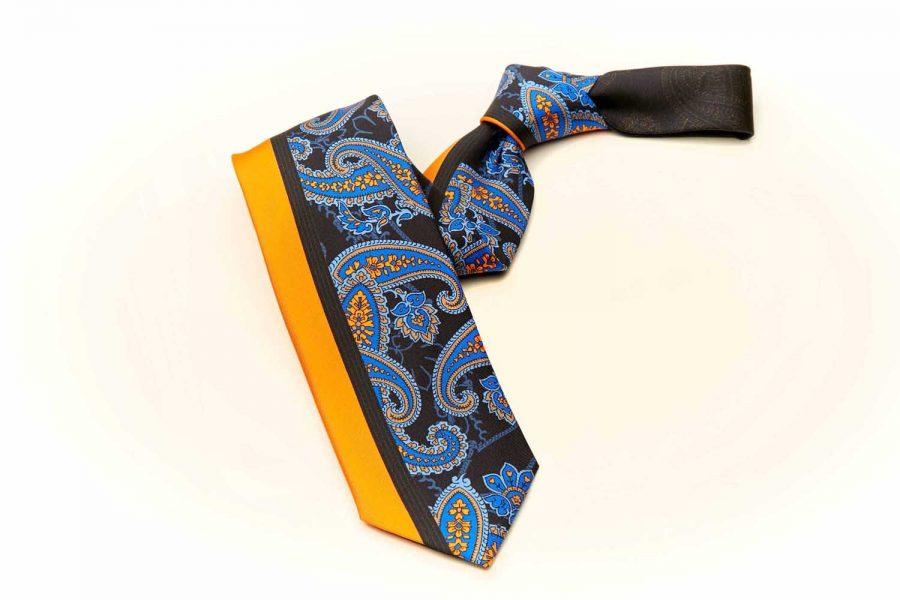 Γραβάτα με λαχούρια, Μετάξι 100%