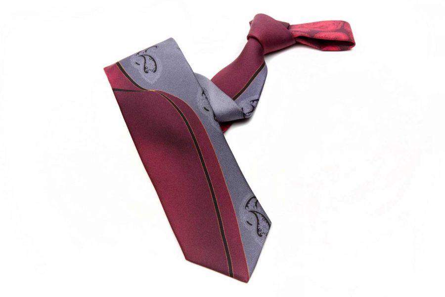 """Γραβάτα """"Inverno"""", Double sided, Μετάξι 100%"""